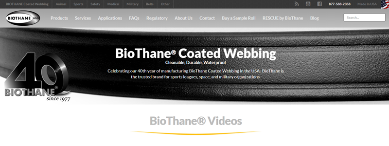 Case Study: BioThane Finds the Right Google Site Search Replacement Through Thunderstone